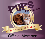 Professional United Pet Sitters Pet Sitting Directory:  Find a Professional In-Home Pet Sitter or Dog Walker in your area for your Pet Care needs